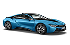 BMW i8 Front Low Angle View Picture