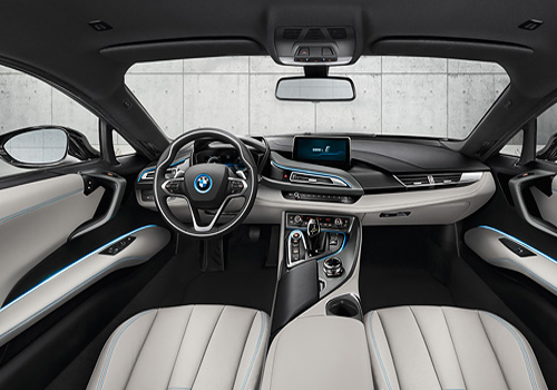BMW i8 Fuel Lid Interior Picture