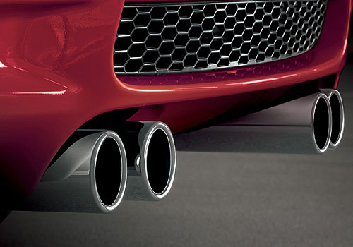 BMW M3 Exhaust Pipe Picture
