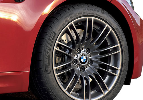 BMW M3 Wheel and Tyre Exterior Picture