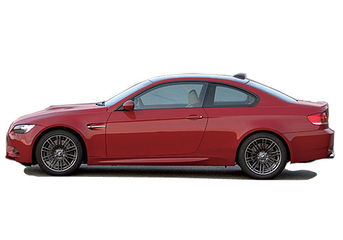 BMW M3 Front Angle Side View Exterior Picture