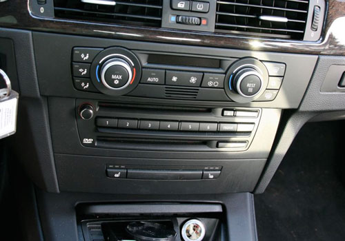BMW M3 Stereo Interior Picture