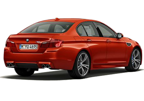 BMW M5 Rear Angle View Exterior Picture
