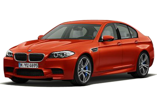 BMW M5 Front Angle View Exterior Picture