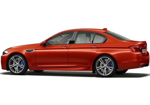 BMW M5 Cross Side View Exterior Picture
