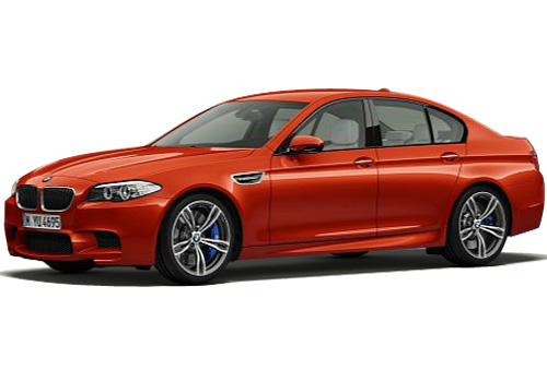 BMW M5 Front Side View Exterior Picture