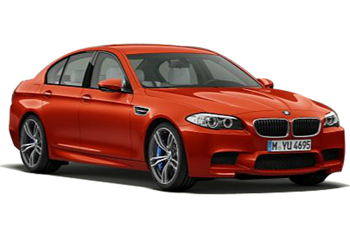 BMW M5 Front Low Angle View Exterior Picture