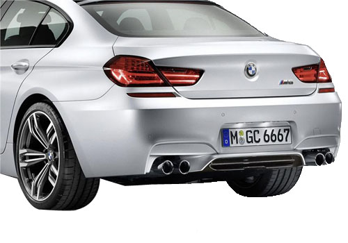 BMW M6 Tail Light Exterior Picture
