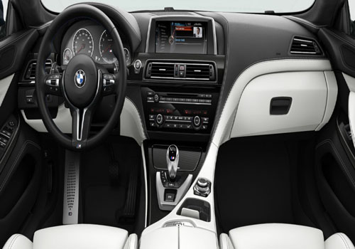 BMW M6 Dashboard Interior Picture