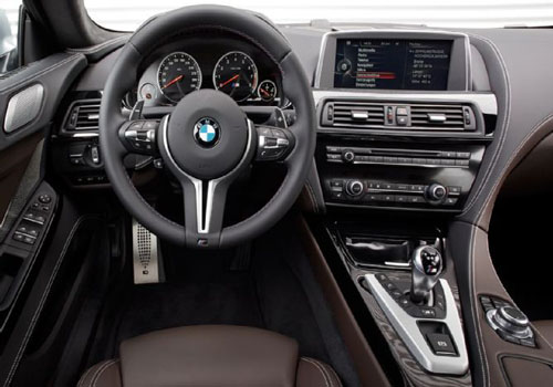 BMW M6 Front Side View Interior Picture