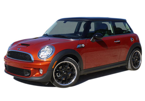 BMW Mini Cooper Front Angle View Picture