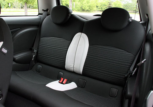 BMW Mini Cooper Rear Seats Interior Picture