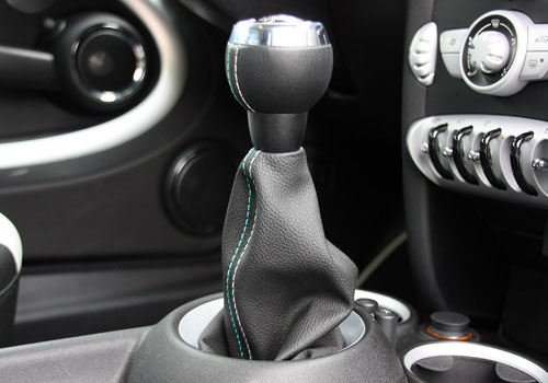 BMW Mini Cooper Gear Knob Interior Picture