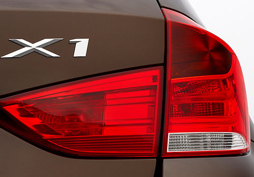 BMW X1 Tail Light Picture