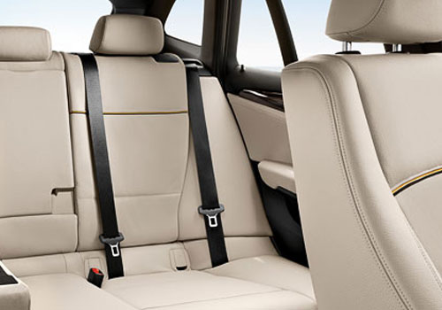BMW X1 Rear Seats Picture