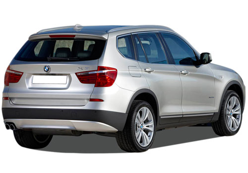 BMW X3 Rear Angle View Exterior Picture