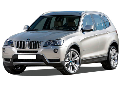 BMW X3 Front Angle View Picture