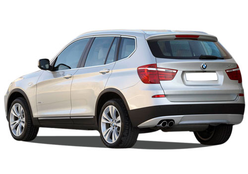 BMW X3 Cross Side View Exterior Picture