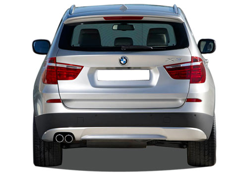 BMW X3 Rear View Exterior Picture