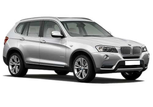 BMW X3 Front Side View Exterior Picture