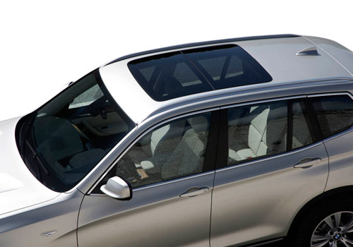 BMW X3 Top View Exterior Picture