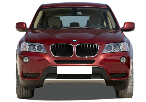 BMW X3 Front View Exterior Picture
