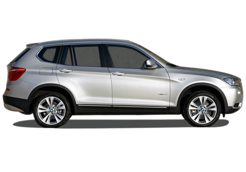 BMW X3 Side Medium View Exterior Picture