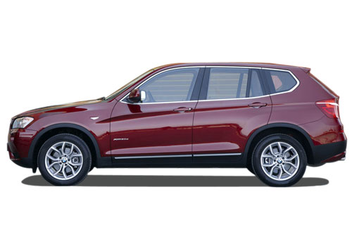 BMW X3 Front Angle Side View Exterior Picture