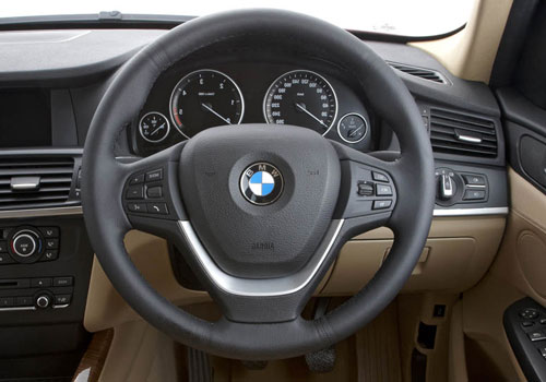 BMW X3 Steering Wheel Interior Picture