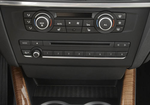 BMW X3 Rear AC Control Interior Picture