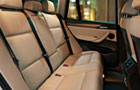 BMW X3 Rear Seats Picture