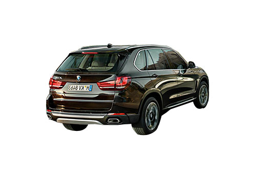BMW X5 Rear Angle View Exterior Picture