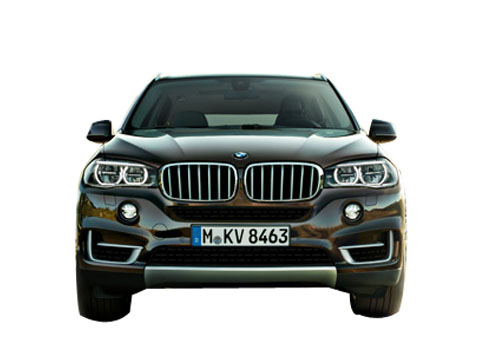 BMW X5 Front View Exterior Picture