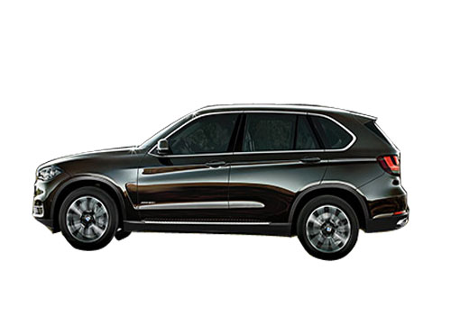 BMW X5 Front Angle Side View Exterior Picture