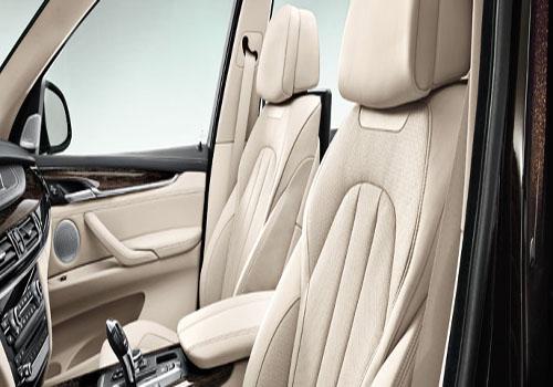 BMW X5 Front Seats Interior Picture