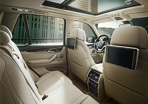 BMW X5 Rear Seats Interior Picture