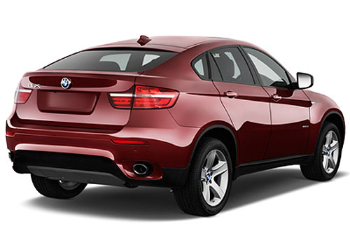 BMW X6 Rear Angle View Exterior Picture
