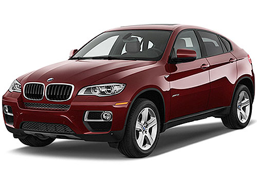 BMW X6 Front Angle View Picture