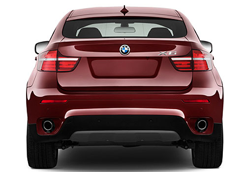 BMW X6 Rear View Exterior Picture