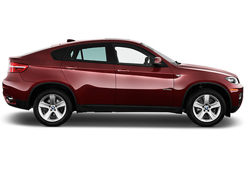BMW X6 Side Medium View Exterior Picture