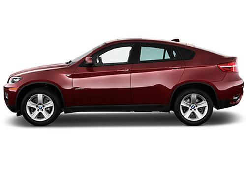 BMW X6 Front Angle Side View Exterior Picture