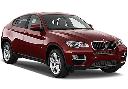 BMW X6 Front Low Angle View Exterior Picture