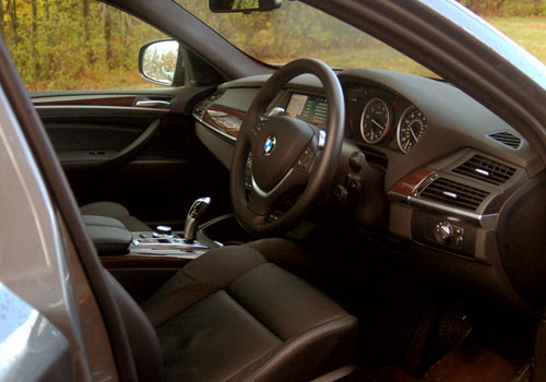 BMW X6 Front Seats Interior Picture