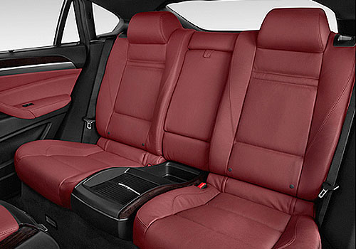 BMW X6 Rear Seats Interior Picture