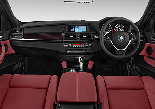 BMW X6 Dashboard Interior Picture
