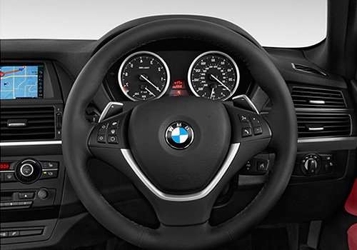 BMW X6 Steering Wheel Interior Picture