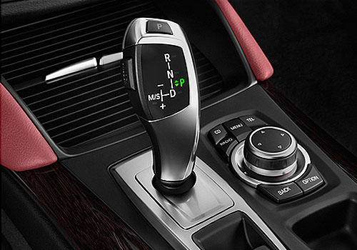 BMW X6 Gear Knob Interior Picture