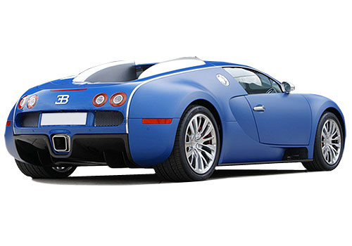 Bugatti Veyron Rear Angle View Exterior Picture