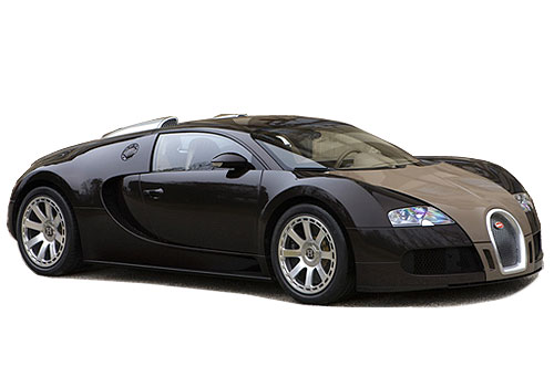 Bugatti Veyron Front Side View Exterior Picture