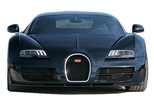 Bugatti Veyron Front View Exterior Picture